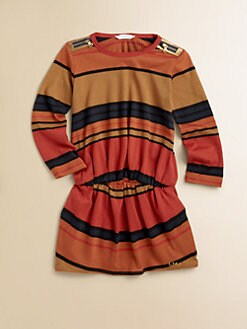 Little Marc Jacobs - Toddler's & Little Girl's Striped Jersey Dress