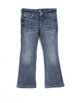 7 For All Mankind - Toddler's & Little Girl's Faded Bootcut Jeans