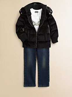 Dolce & Gabbana - Toddler's & Little Girl's Down Puffer Jacket