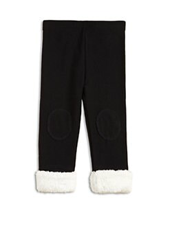 Plush - Toddler's & Little Girls Faux Fur Jeggings