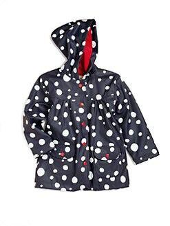 Hatley - Toddler's & Little Girl's Snowball Raincoat