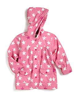 Hatley - Toddler's & Little Girl's Stars Raincoat