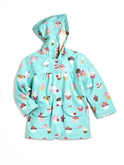 Hatley - Toddler's & Little Girl's Cupcakes Raincoat