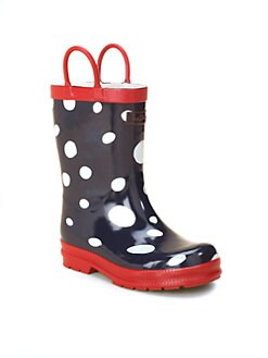 Hatley - Toddler's & Little Girl's Snowball Rain Boots