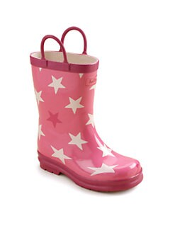 Hatley - Toddler's & Little Girl's Stars Rain Boots
