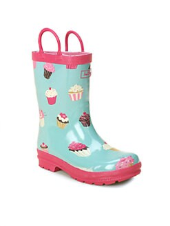 Hatley - Toddler's & Little Girl's Cupcakes Rain Boots