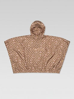 Gucci - Toddler's & Little Girl's Gucci Zoo Nylon Poncho