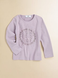 Versace - Toddler's & Little Girl's Logo Tee