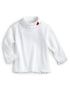 Florence Eiseman - Toddler's & Little Girl's Apple Turtleneck Top