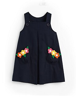 Florence Eiseman - Toddler's & Little Girl's Appliquéd Twill Jumper