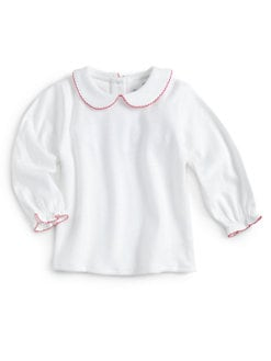 Florence Eiseman - Toddler's & Little Girl's Picot-Trimmed Top