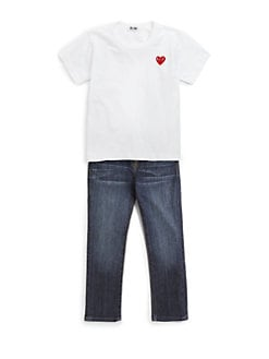 Comme des Garcons Play - Toddler's & Little Girl's  Heart Emblem Cotton Tee