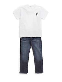 Comme des Garcons Play - Toddler's & Little Girl's Heart Emblem Tee