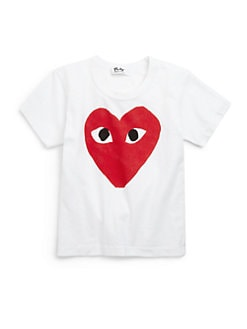 Comme des Garcons Play - Toddler's & Little Girl's Logo Cotton Tee