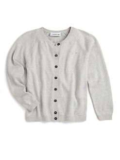 Lacoste - Toddler's & Little Girl's Crystal-Detail Cardigan