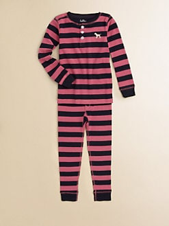 Hatley - Toddler's & Little Girl's Striped Pajamas