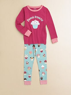 Hatley - Toddler's & Little Girl's Cupcake Pajamas