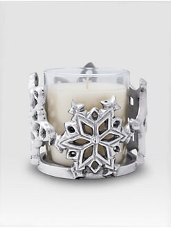 Mariposa - Snowflake Candle/Bottle Holder
