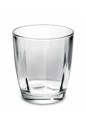 Optical Smoke Grey Double Old Fashioned Glass
