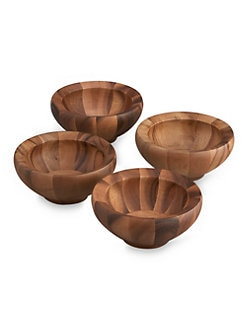 Nambe - Yaro Salad Bowls, Set of 4