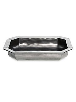 Juliska - Pewter Stoneware Baker/Rectangle