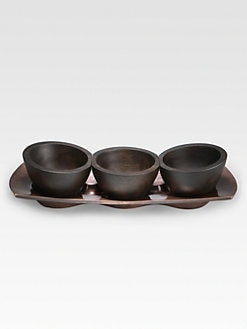 Nambe - Heritage Trio Condiment Server