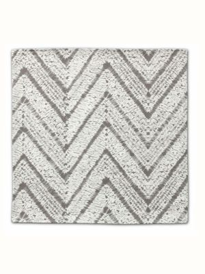 Grey Chevron Napkin