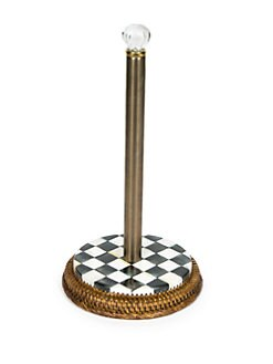MacKenzie-Childs - Courtly Check Paper Towel Holder