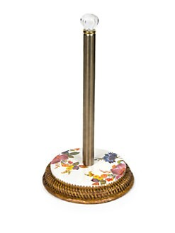 MacKenzie-Childs - Flower Market Paper Towel Holder