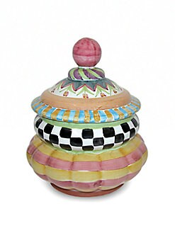 MacKenzie-Childs - Piccadilly Cookie Jar