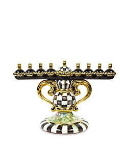 MacKenzie-Childs - Courtly Check Menorah
