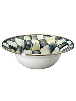 MacKenzie-Childs - Courtly Check Breakfast Bowl
