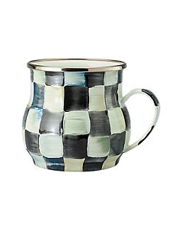 MacKenzie-Childs - Courtly Check Enamelware Mug