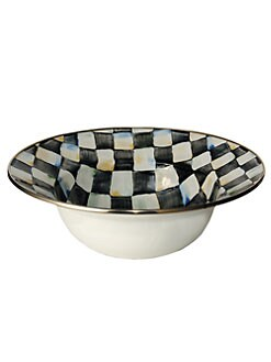 MacKenzie-Childs - Courtly Check Serving Bowl