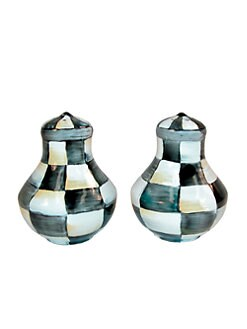 MacKenzie-Childs - Courtly Check Salt & Pepper Shaker Set