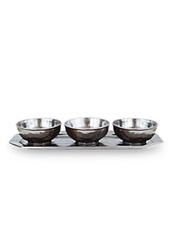 Juliska - Pewter Stoneware Hostess Set