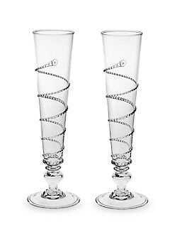 Juliska - Amalia Champagne Flutes, Set of 2