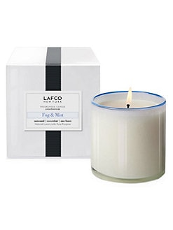LAFCO - Lighthouse/Fog & Mist Glass Candle