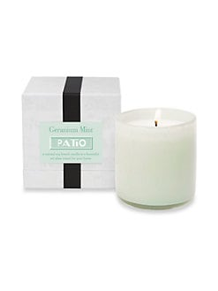 Lafco - Patio/Geranium Mint Glass Candle