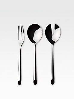 Nambe - Frond 3-Piece Serving Set