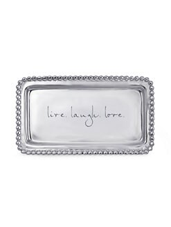 Mariposa - Live Laugh Love Tray
