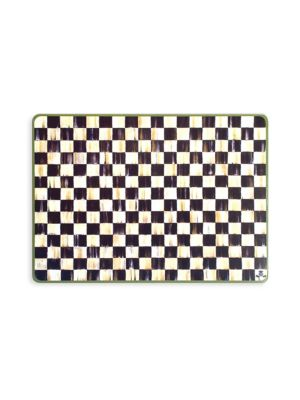 Four-Piece Courtly Check Placemats