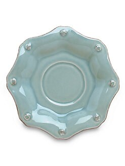 Juliska - Berry & Thread Stoneware Saucer/Blue