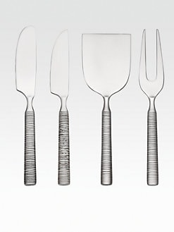Donna Karan - Stainless Steel Wrap Cheese Set