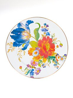 MacKenzie-Childs - Flower Market Enameled Platter