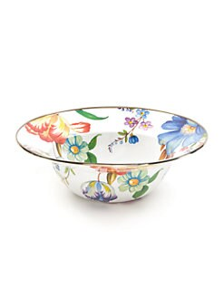 MacKenzie-Childs - Flower Market Serving Bowl