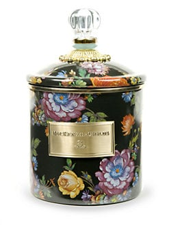 MacKenzie-Childs - Flower Market Canister/Small