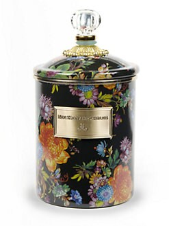 MacKenzie-Childs - Flower Market Canister/Medium