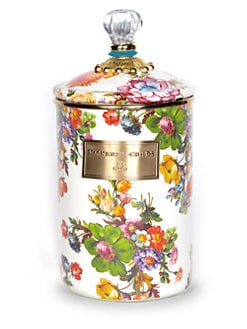 MacKenzie-Childs - Flower Market Canister/Large