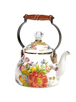 MacKenzie-Childs - Flower Market 2 Quart Tea Kettle